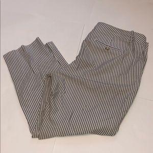 MERONA Target Capri classic coupe linen striped